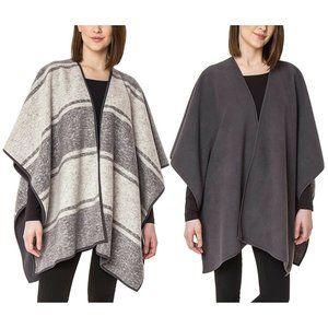 Womens Ike Behar Reversible Fashion Wrap